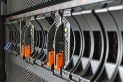 Server en invalsopslag Stock Afbeeldingen