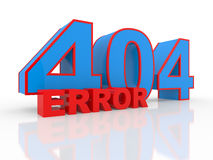 Server error 404 Royalty Free Stock Photo
