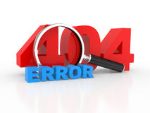 Server error 404 Royalty Free Stock Photography