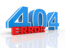 Server error 404 Royalty Free Stock Image