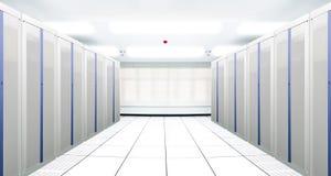 server för kommunikationsinternetnätverk Arkivbild