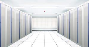 server för kommunikationsinternetnätverk Arkivbilder
