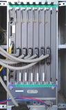 server för kommunikationsinternetnätverk Arkivfoto