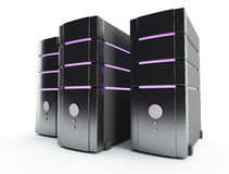 Server farm Royalty Free Stock Photo