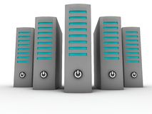 Server farm Royalty Free Stock Photos