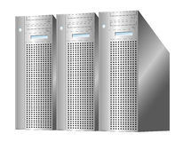 Server farm Stock Photos