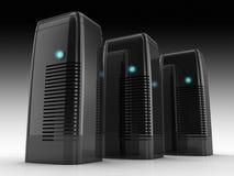 Server farm Stock Image