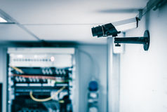 Server farm security camera Royalty Free Stock Photography