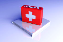 Server first aid Royalty Free Stock Photography