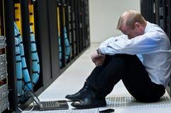 Server frustration stock photography