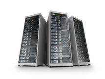 IT server grid Stock Images