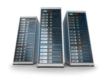 IT server grid Royalty Free Stock Photography