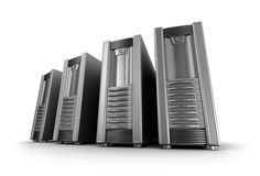 IT server grid Royalty Free Stock Photo