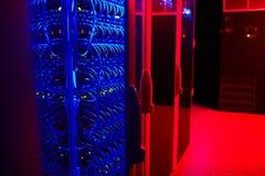 Server i datacenter Fotografering för Bildbyråer