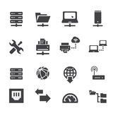 Server icon Stock Images