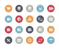 Server Icons // Classics Series Stock Photography