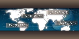 Server Internet Royalty Free Stock Photos