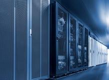 Server internet datacenter room, network, technology concept background, Data center is server control center for internet stock image