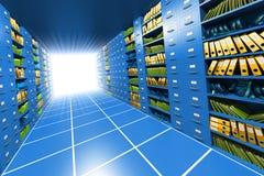 Server interno Fotografia Stock