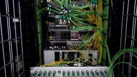 Server kablar Datorhall för Ð-¡ omputers lager videofilmer