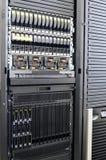 Server montados cremalheira Fotos de Stock Royalty Free