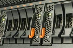Server- och razzialagring Arkivfoton
