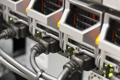 Server Power Supplies Royalty Free Stock Image