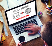 Server Problem Failure Difficulty Complication Concept Royalty Free Stock Photography
