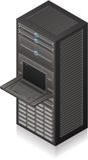 Server Rack Royalty Free Stock Photography