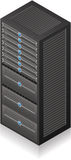 Server Rack Stock Image