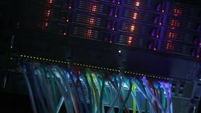 Server Rack blue toned