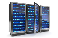 Server rack icon Royalty Free Stock Photography