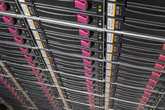 Server rack Royalty Free Stock Image