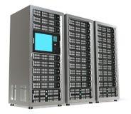 Server Rack X3 Stock Image