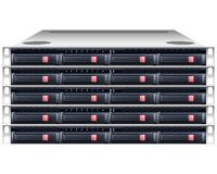 Server rackmount chassis Royalty Free Stock Images
