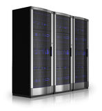 Server racks stock illustration