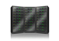 Server racks Royalty Free Stock Photography