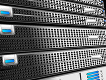 Server Racks Stock Image