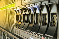 Server and raid storage Royalty Free Stock Photography