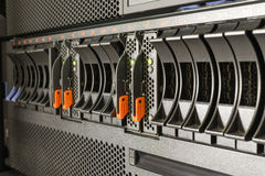 Server and raid storage Royalty Free Stock Images