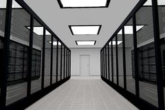Server Room_1 Fotografia Stock