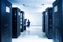 Free Server Room Royalty Free Stock Photo - 12940685