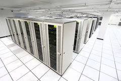 Free Server Room Royalty Free Stock Photo - 13836925