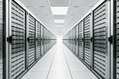Server room Royalty Free Stock Photography