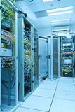 Server room. Filled with with racks Stock Photo