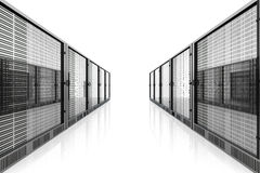 Server Room Royalty Free Stock Photo