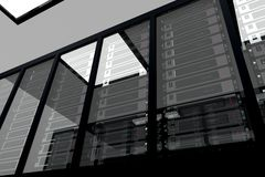 Server Room_2 Fotografie Stock Libere da Diritti