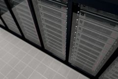 Server Room_3 Stock Photography