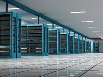Server room Royalty Free Stock Images