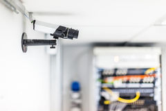 Server room cctv Stock Photo